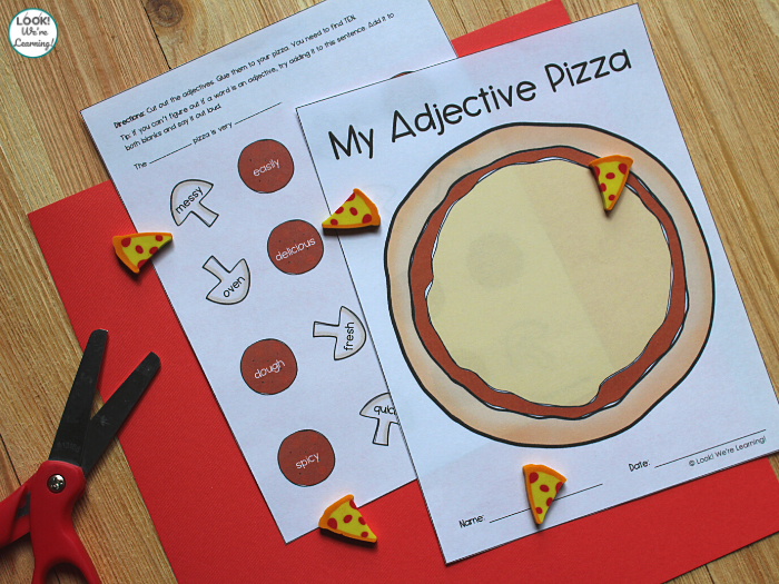 Adjective Sorting Activity for Kids