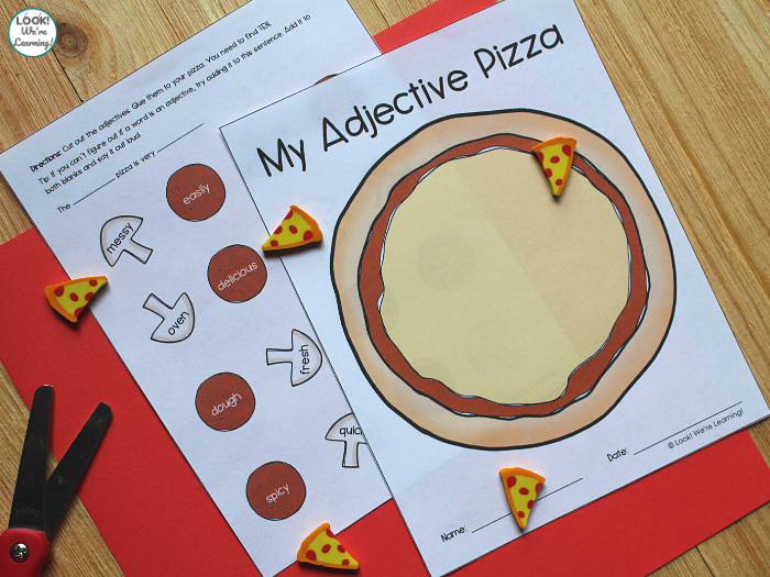 Easy Adjective Sorting Activity for Kids