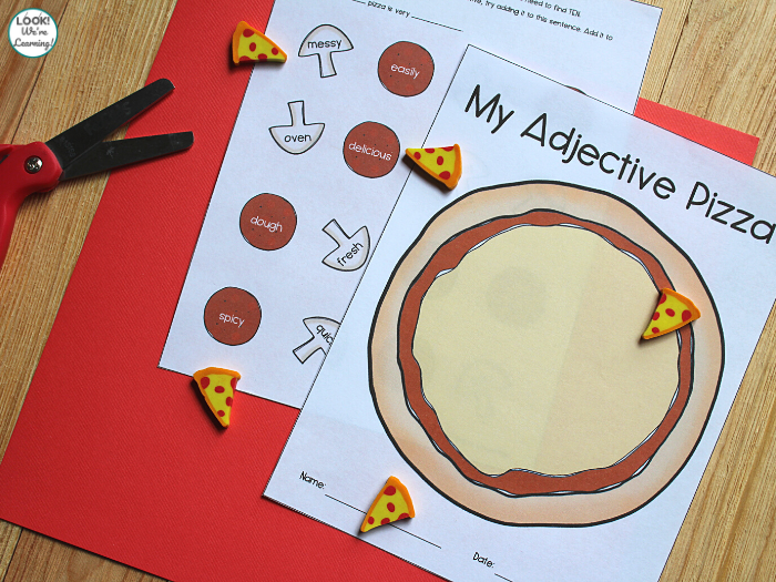 Printable Adjective Sorting Activity