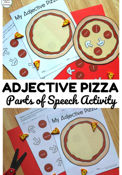 This fun pizza themed adjective sorting activity is a perfect hands-on lesson for ELA!