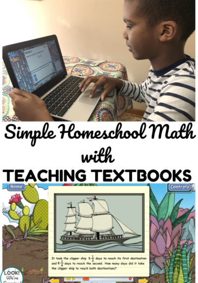 How to Use Teaching Textbooks for Simple Homeschool Math