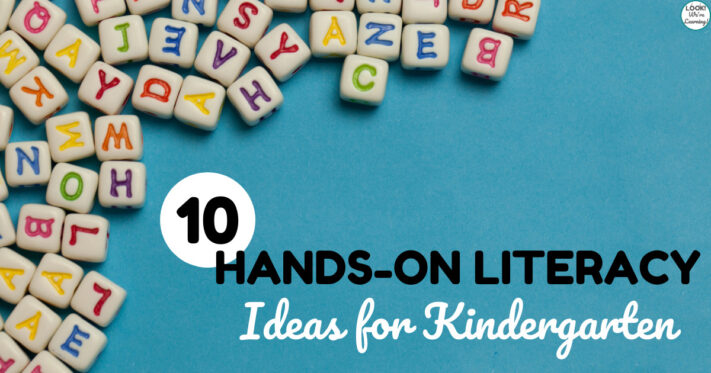 Hands On Literacy Ideas for Kindergarten