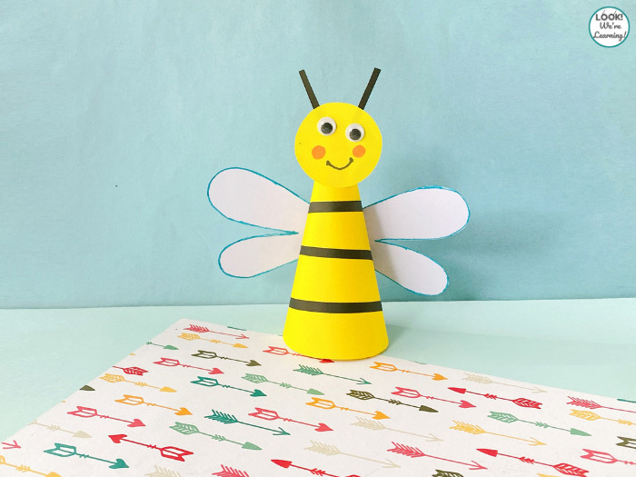Super Easy Bee Craft for Kids