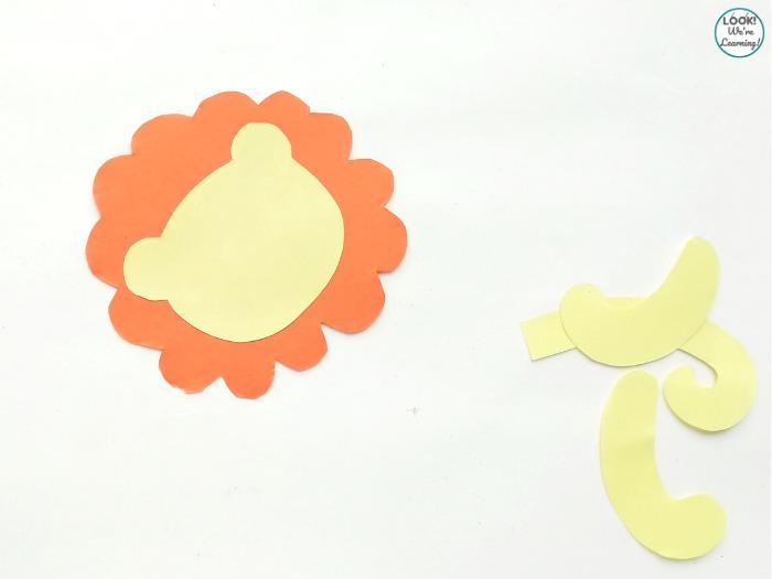 Making a Paper Lion Craft