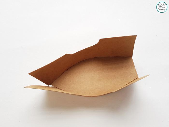 Making a Paper Pirate Ship