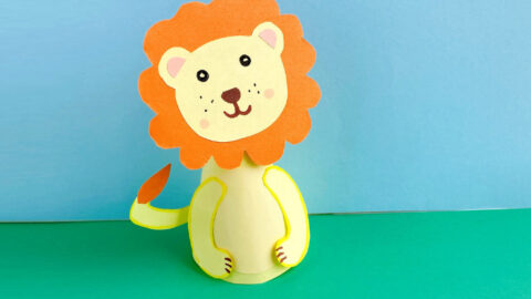 Simple Lion Craft for Kids to Make