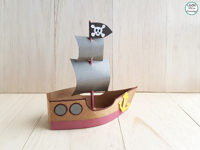 Simple Paper Pirate Craft