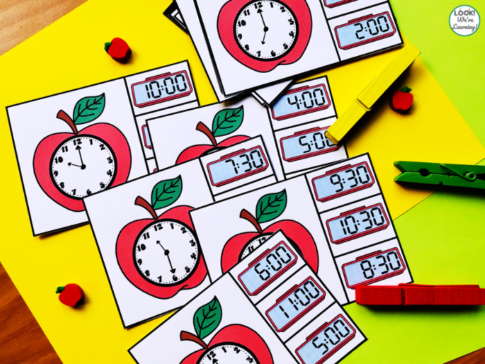 Apple Time Clip Cards