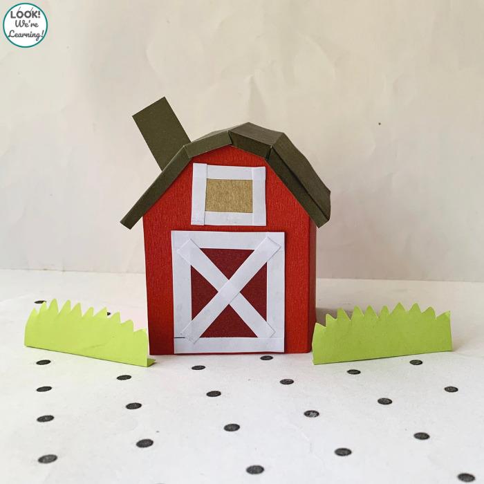 Easy Paper Farmhouse Craft