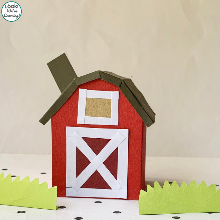 Farmhouse Paper Craft for Kids