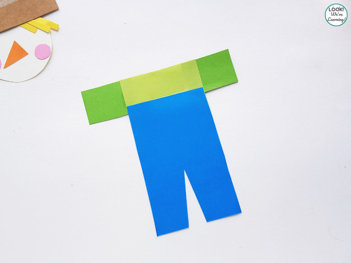 Fun Paper Harvest Craft for Kids