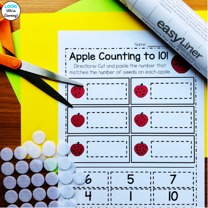 How to Prep a Math Center with Clear Laminate