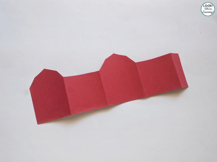Making a Paper Barn Craft