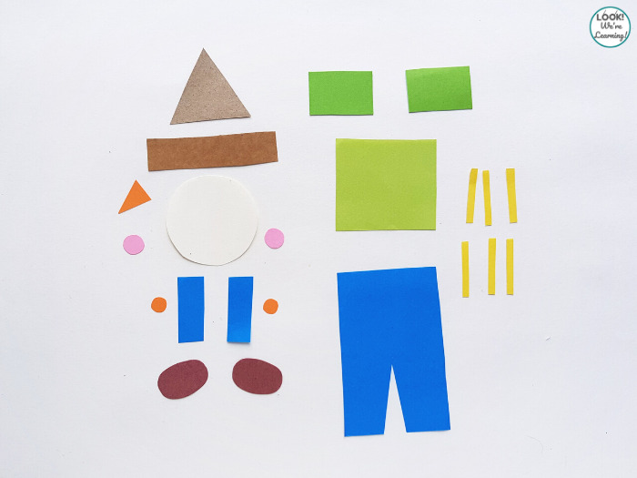 Making a Paper Scarecrow Craft