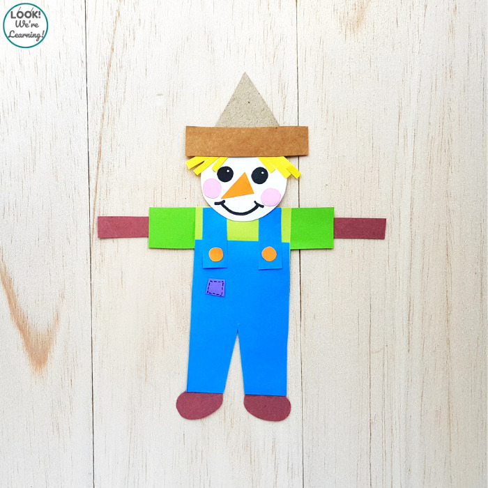 Making a Paper Scarecrow with Kids