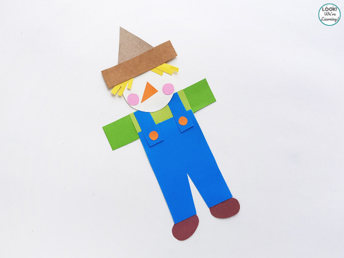 Simple Scarecrow Kids Craft
