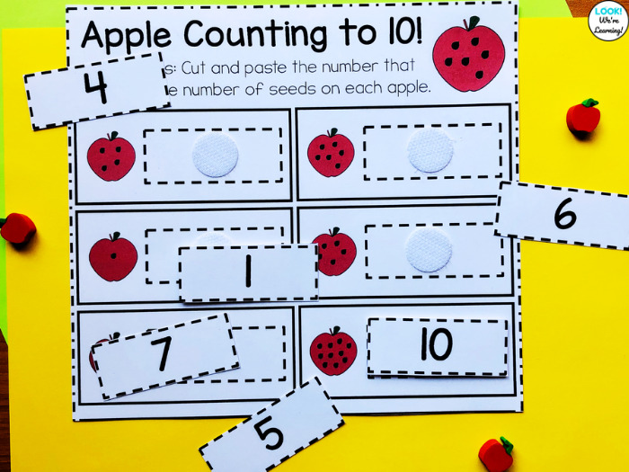 Turning a Worksheet Into a Reusable Math Center Activity