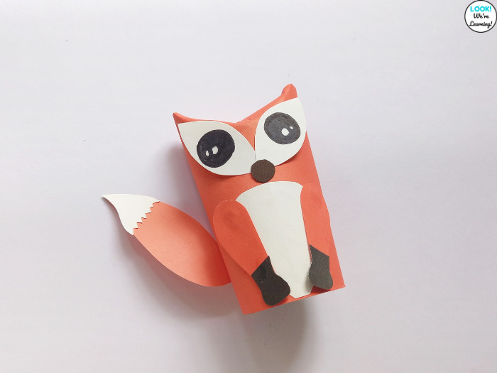 Easy Toilet Paper Roll Animal Craft for Kids
