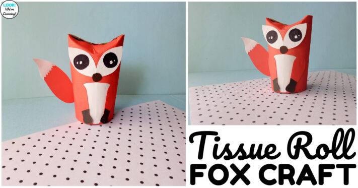 Easy Toilet Paper Roll Fox Craft