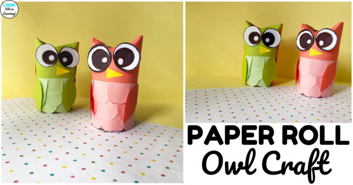 Easy Toilet Paper Roll Owl Craft