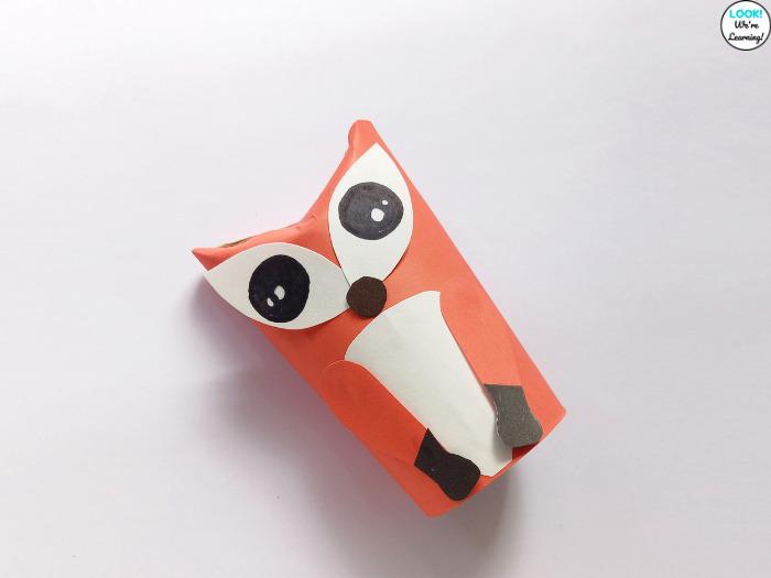 Fun Paper Fox Craft to Make with Kids
