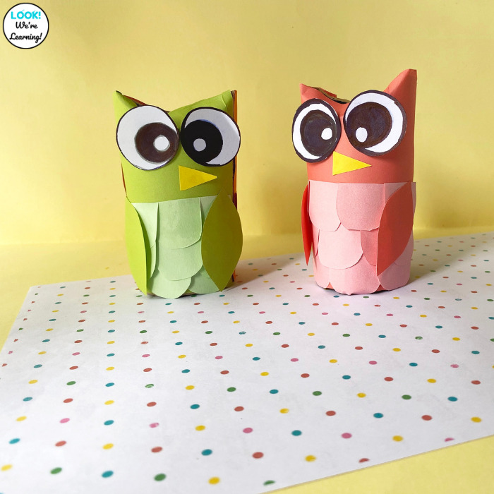 Fun Paper Owl Craft to Make with Kids