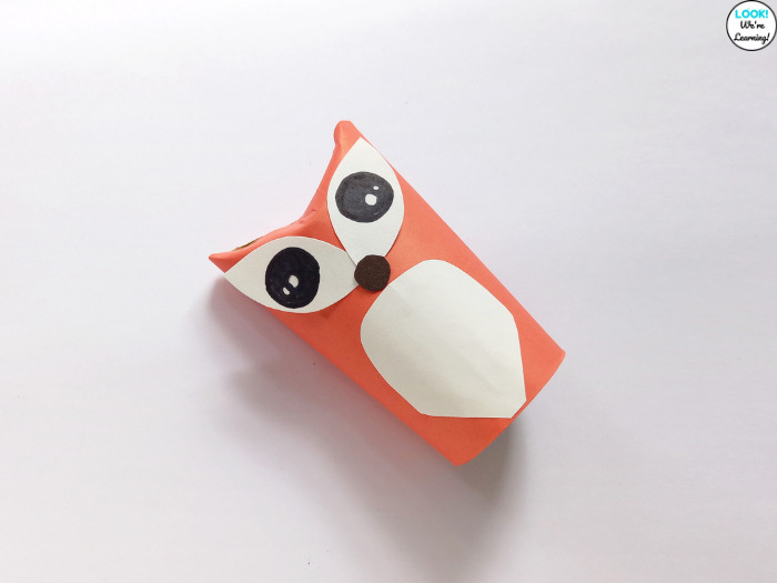 Making a Fox Craft for Kids