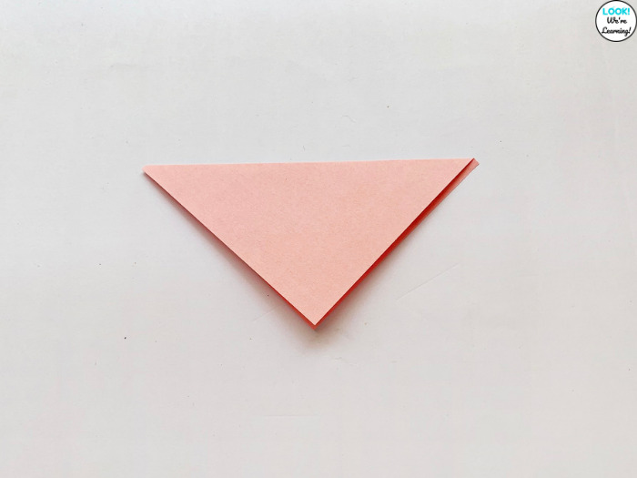 Making a Paper Corner Bookmark