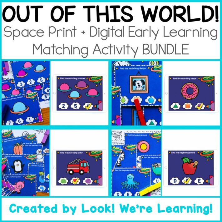Space Early Learning Bundle