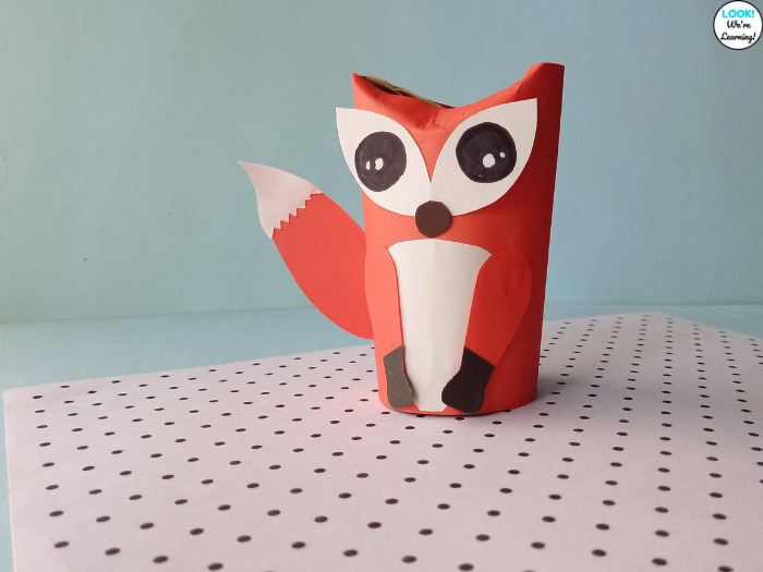 Toilet Paper Roll Fox Craft for Fall